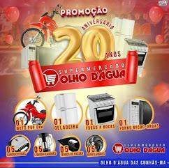 PROMOÇÃO ANIVERSÁRIO 20 ANOS