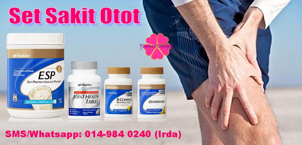 vitamin shaklee untuk otot