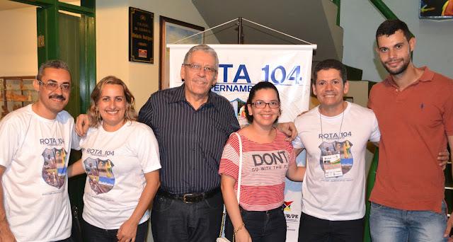Secretários e Dirigentes de turismo - Lançamento do Projeto Rota 104