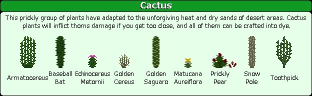 Plant Mega Pack Mod cactus