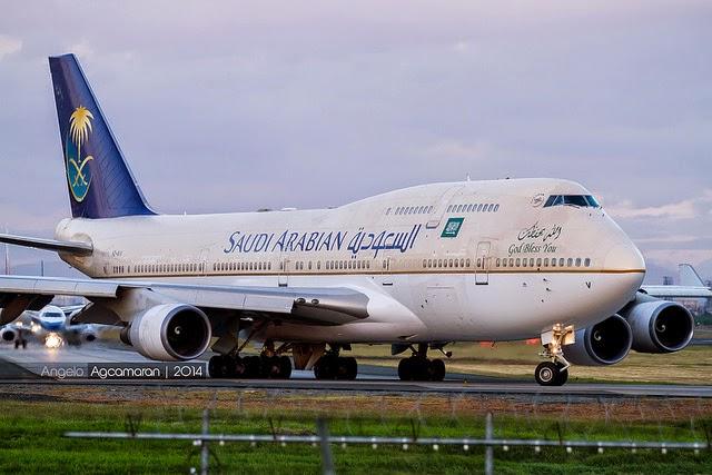 saudi arabian 747
