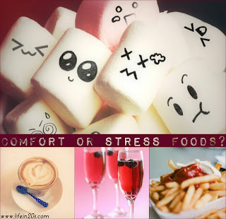 Comfort foods that can cause stress