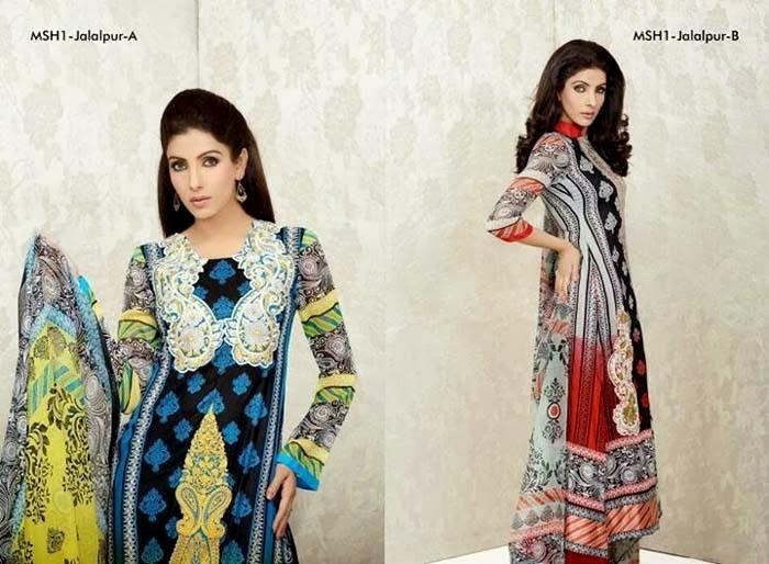 Jalalpur Lawn Designs By Lala Textile