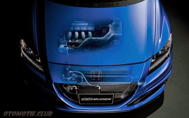 Honda CR-Z Mugen RZ engine