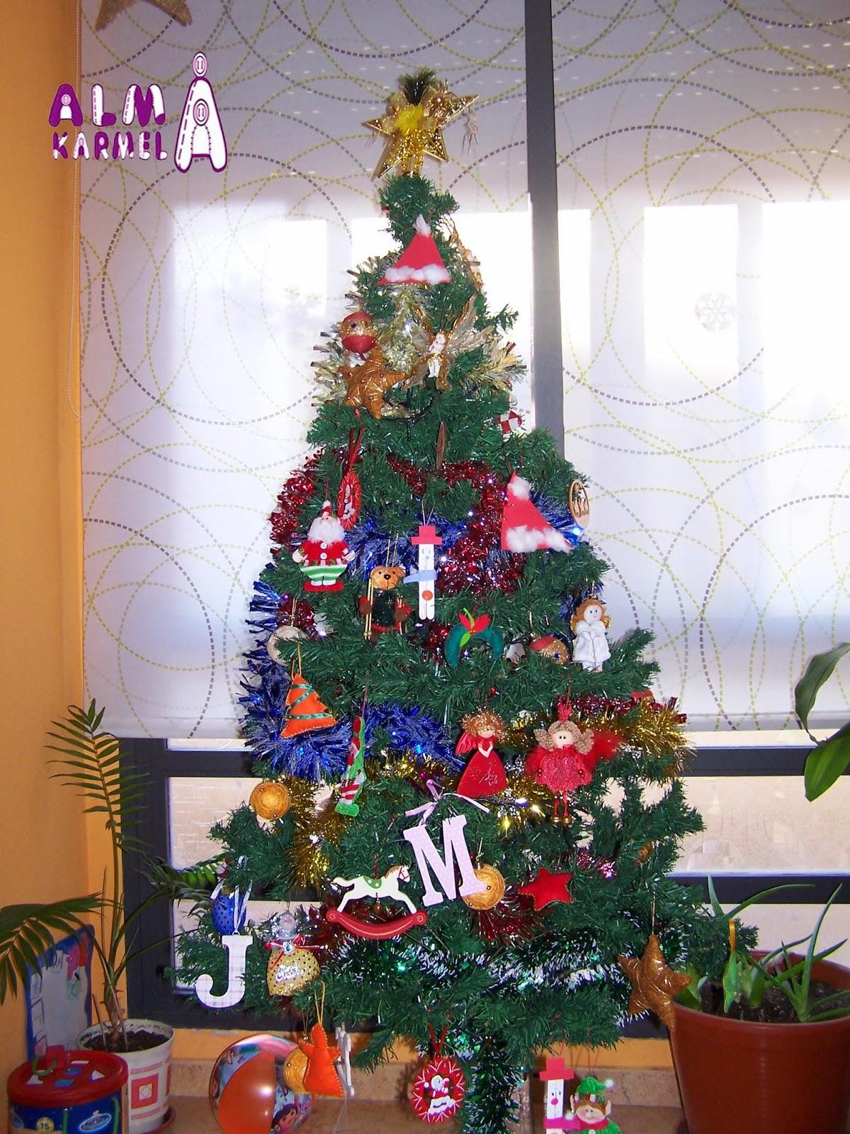 Almakarmela nuestra decoraci n navide a parte ii - Decoracion navidena 2014 ...
