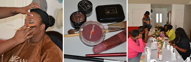 makeup demonstration