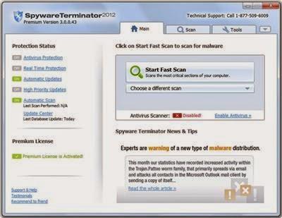 Spyware Terminator Premium 2012