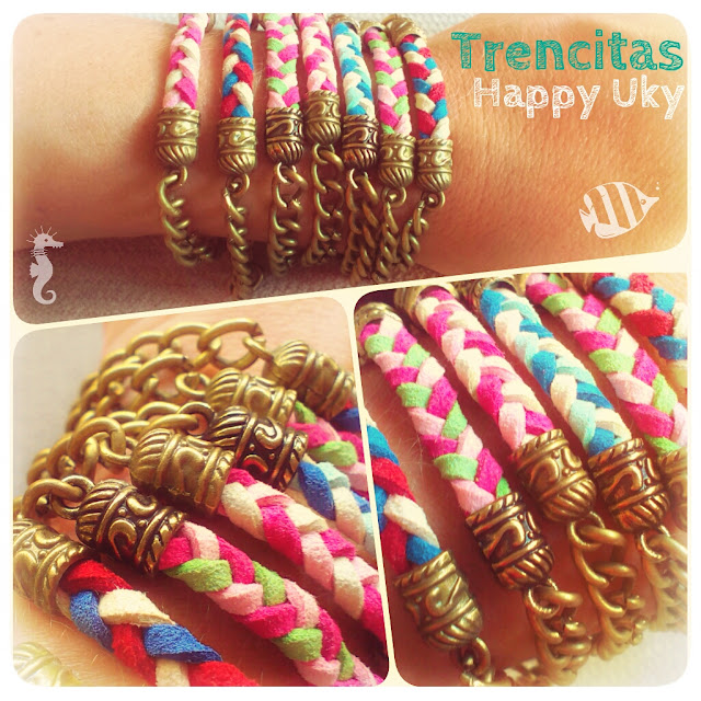 Pulseras Handmade Bracelets Happy Uky Color Summer