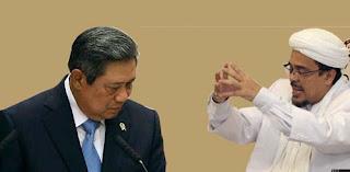 Habib Rizieq Hina SBY, FPI Dianggap Makar