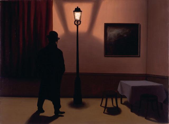 René Magritte, Le noctambule, 1928 - Essen, Museum Folkwang © Charly HERSCOVICI Brüssel - 2011© VBK Wien, 2011