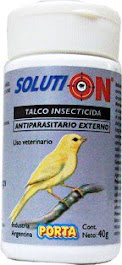 SOLUTION Talco insecticida para aves