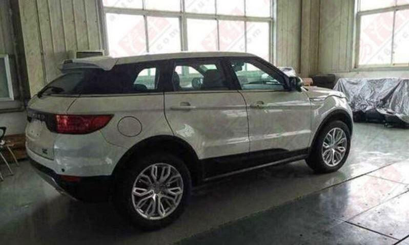رنج روفر ايفوك الصينية تظهر رسمياً Range Rover Evoque