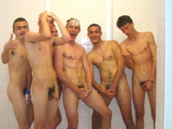 Athletes get naked