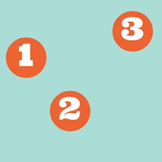 Ondeugende Spruit blog drievoud 1,2,3