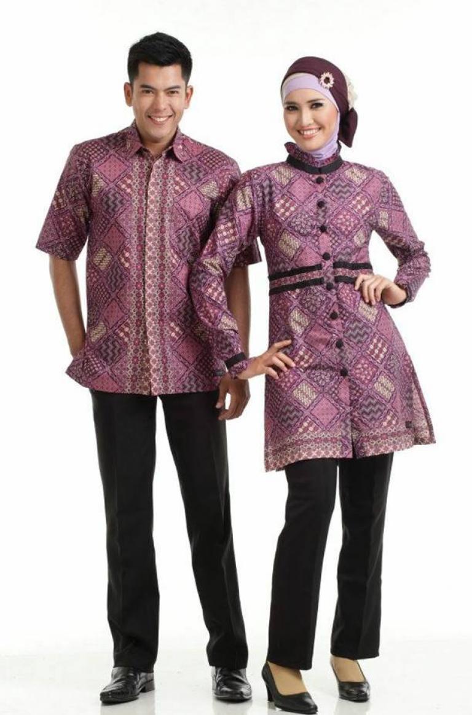 Kumpulan Model Baju Batik Atasan Couple Ibu Dan Anak Terbaru 2019