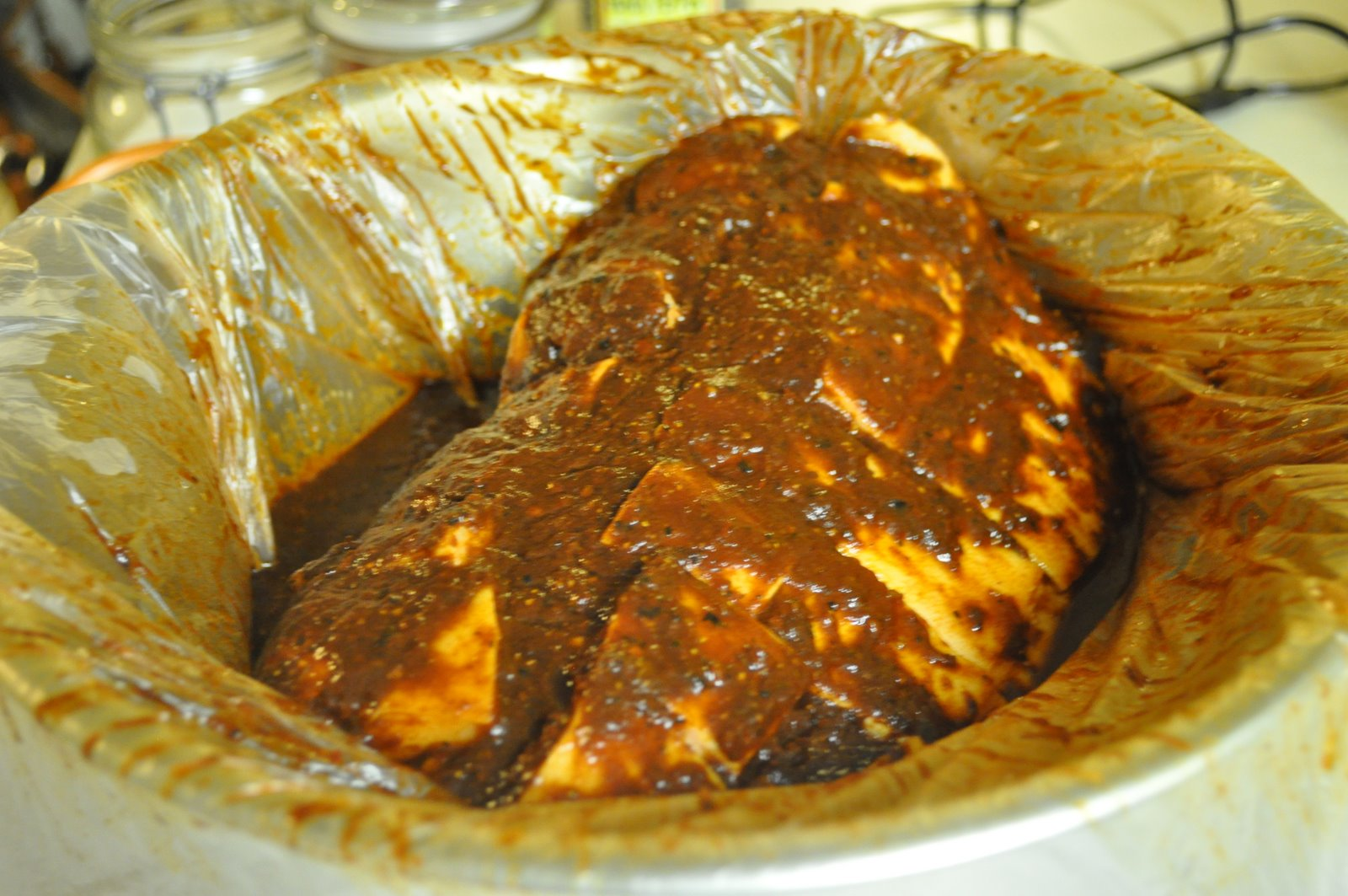 Cocina y algo mas pierna de cerdo a mi manera for Cocinar carrilleras de cerdo