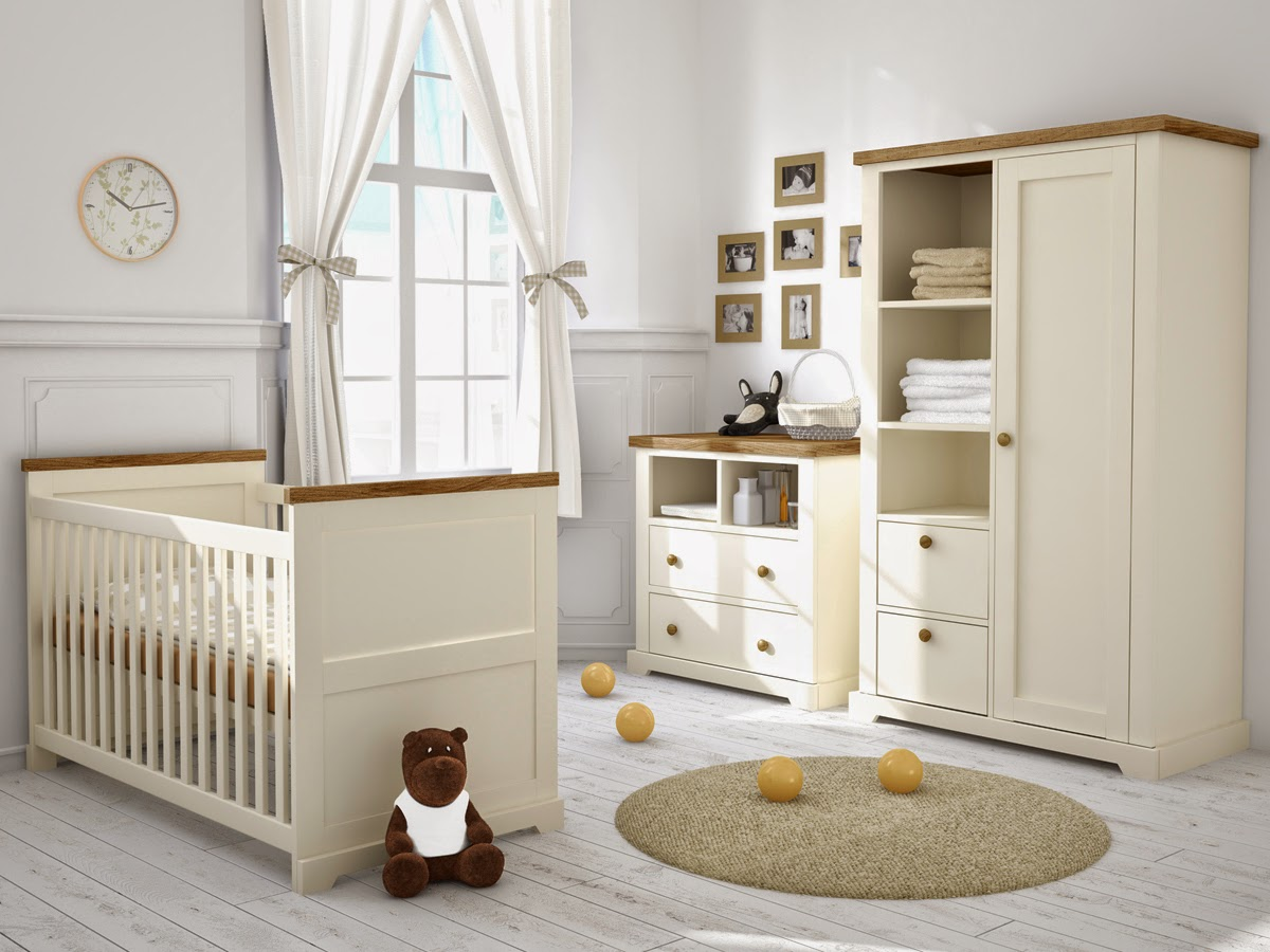 Cream Nursery Furniture Sets By Petite Dreams