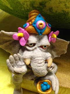 Ganesha Art Doll by Gwen Gyldenege http://calmundertension.com