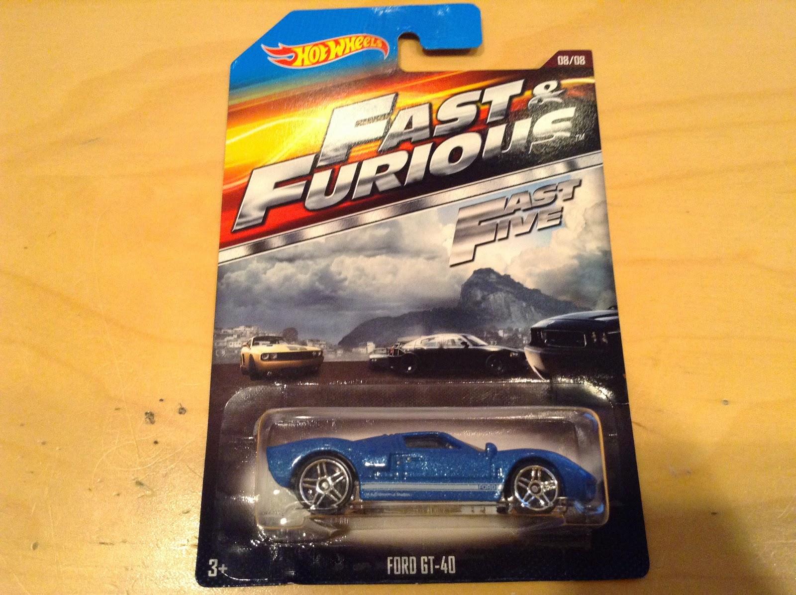 Julians Hot Wheels Blog Ford Gt   Walmart Exclusive Fast Furious Set