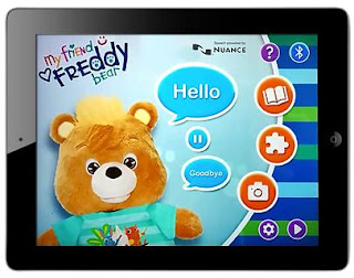 my friend teddy app screen