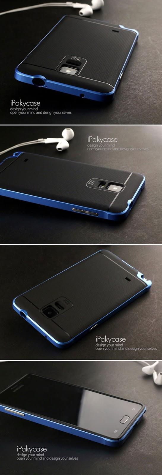 เคส Note 4 สไตล์ไฮบริดของแท้ 131005 สีน้ำเงินสว่าง