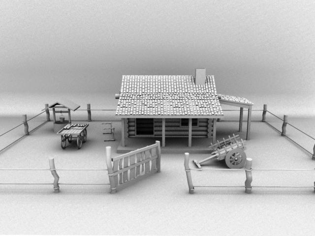 Modelling house in maya