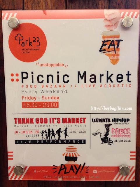 picnic market park23 mall bali 1