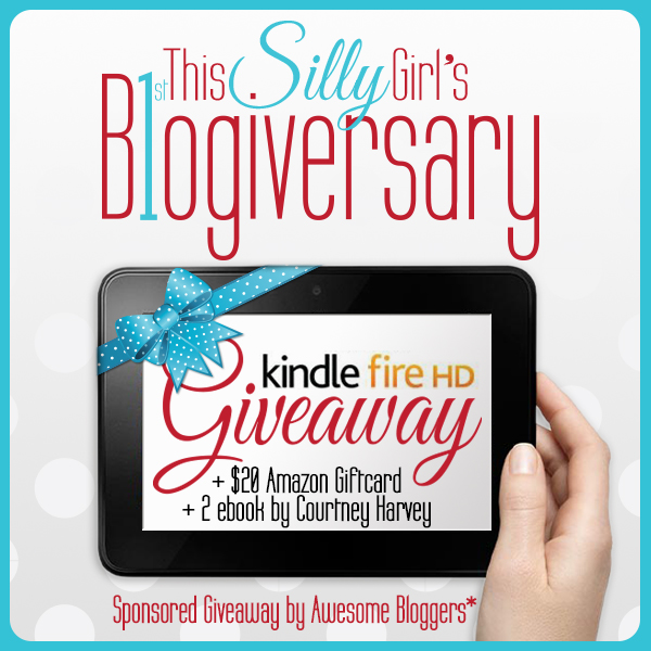 Win a Kindle Fire and more and This Silly Girl's Life Blogiversary Giveaway!