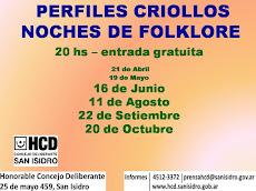 Noches de Folklore - HCD San Isidro