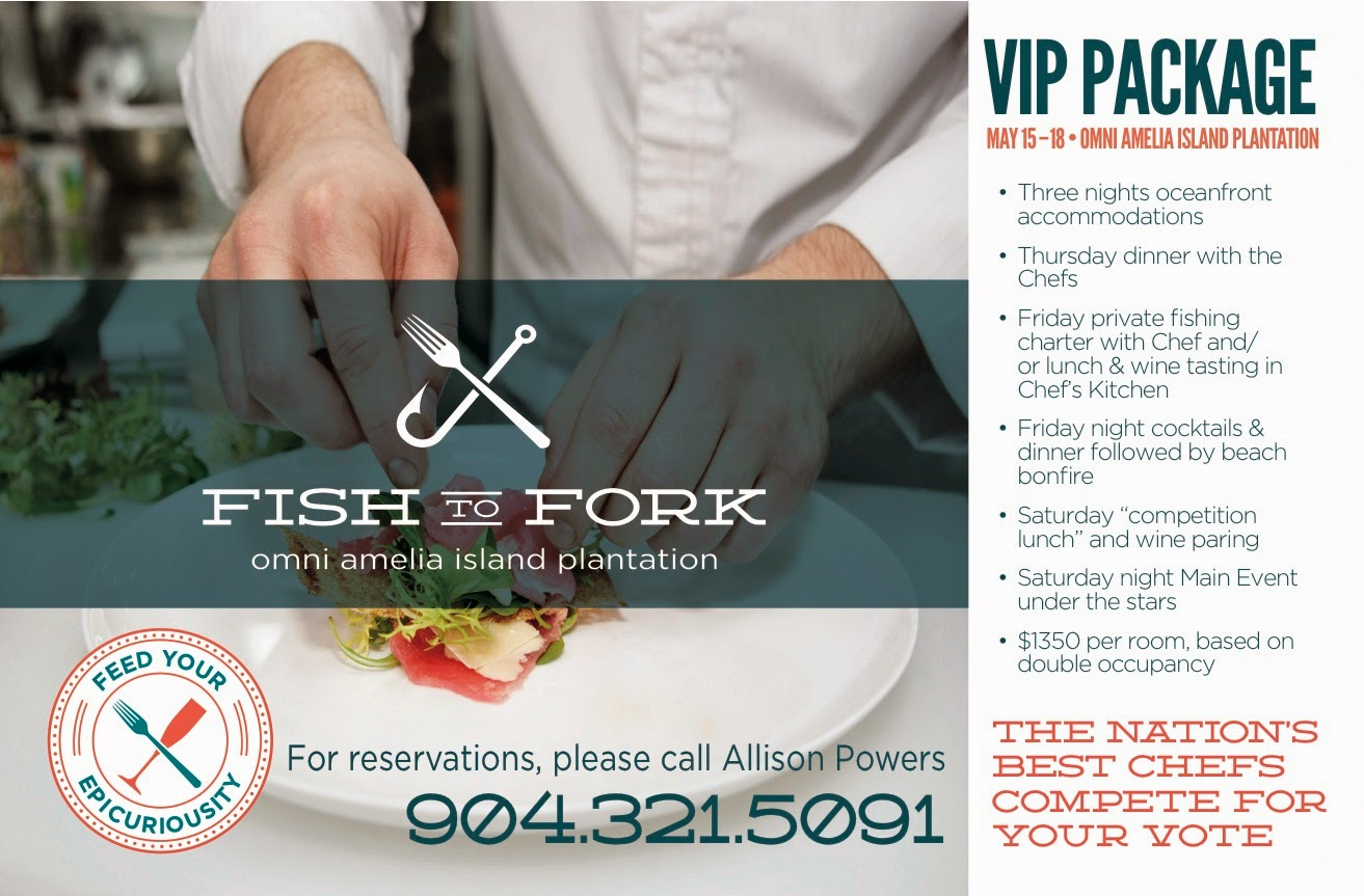 Fish to Fork VIP Package