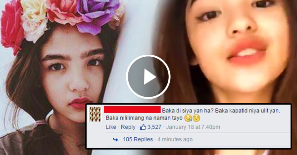 Andrea Brillantes' newly upload video has caught the attention of the netizens!