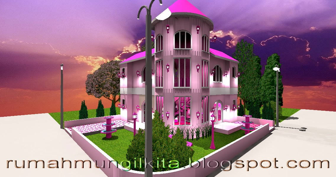 Real Small Barbie Dream House Castle