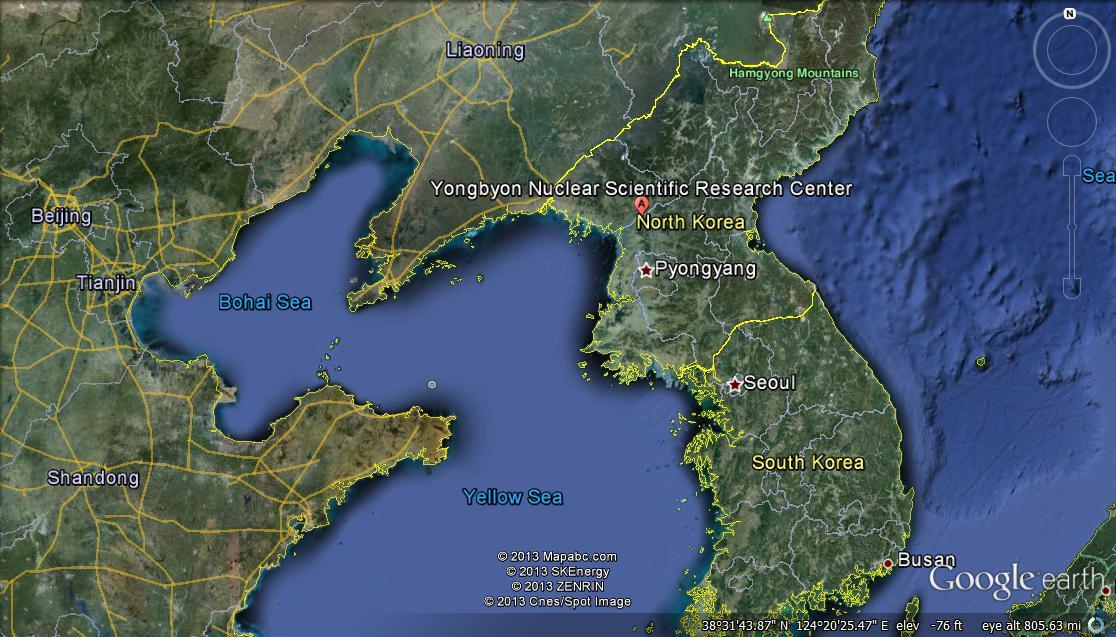 Eaglespeak North Korea Work At Yongbyon Nuclear Site