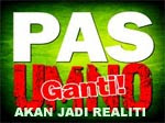 PAS GANTI UMNO