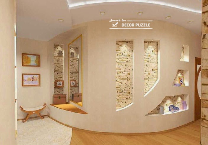 modern pop wall designs and pop des - Plaster Of Paris Wall Designs