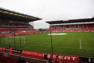 Sejarah awal Berdiri Stadion Britannia - Stoke City