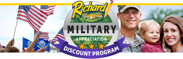 Military Appreciation Month at Richard Chevrolet