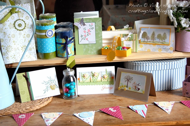 Join Stampin' Up with Vicky Hayes UK Stampin' Up demonstrator and Artisan designer