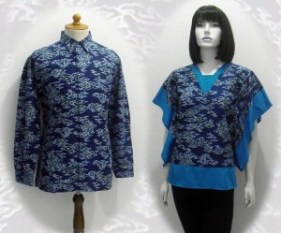 Model baju batik modern 0134w