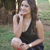 Prabhjeeth Kaur Hot Photo Gallery in Short Dress at Intelligent Idiot Movie Logo Launch 22