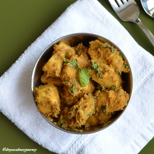 Divya's culinary journey: Chicken Fry (Andhra Style)