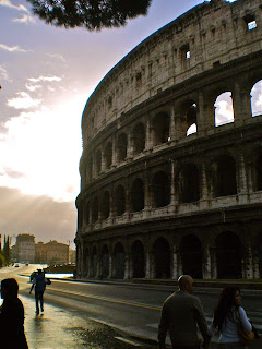 Colosseum at sunrise, Rome. How to see Rome in a hurry, our Two day sightseeing whirlwind!