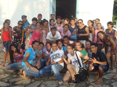 Encontro de Implantação da Juventude Missionária no Tocantins.