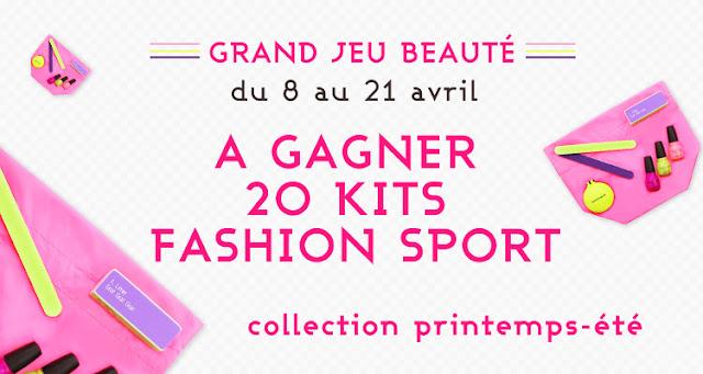 20 kits Fashion Sport Lafayette Beauté
