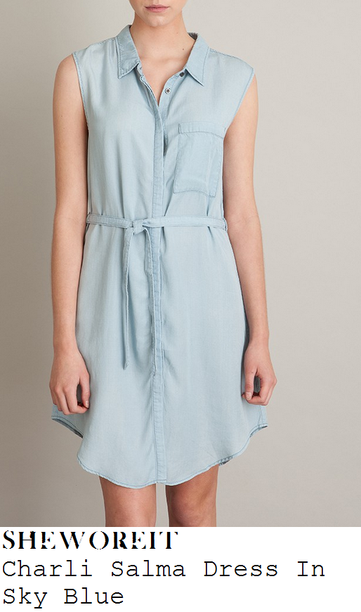 myleene-klass-light-blue-denim-look-sleeveless-button-up-collared-chambray-dress