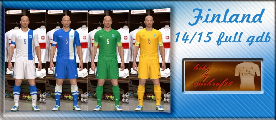 PES 2014 Finland 14-15 fullGDB by mikrof28