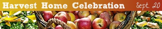 Harvest Home Celebration to be Held Sept. 20