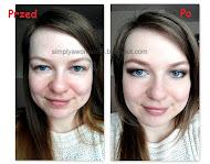Przykładowy makijaż dla opadającej powieki