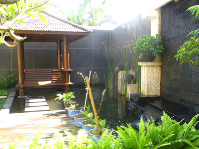 tropical garden for small backyard home interior