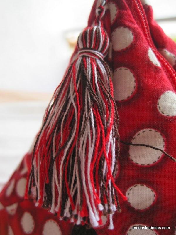 borlas hechas a mano